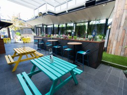 Holdy beer garden